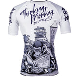 Thinker Monkey Rashguard Short Sleeve