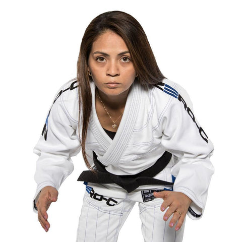 Ladies Zero G V4 Advanced Lightweight BJJ Gi White
