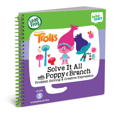 LeapFrog LeapStart Trolls Solve It All with Poppy and Branch Activity Book