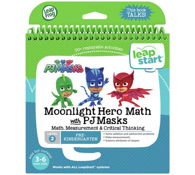 Leapstart Moonlight Hero Math With Pj Masks (Level 2)