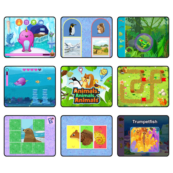 LeapFrog RockIt Twist Dual Game Pack: Penelope Penguin: Pet Detective and Animal