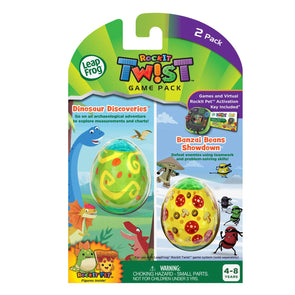 LeapFrog RockIt Twist Dual Game Pack: Dinosaur Discoveries