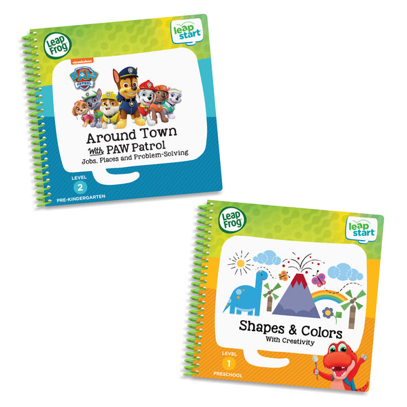 LeapFrog LeapStart 2 Book Combo Pack: Shapes & Colors & Around Town
