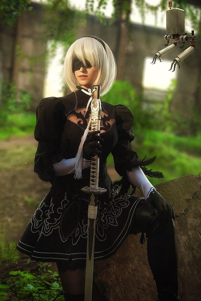 【Cossky】NieR:Automata 2B Uniform Dress
