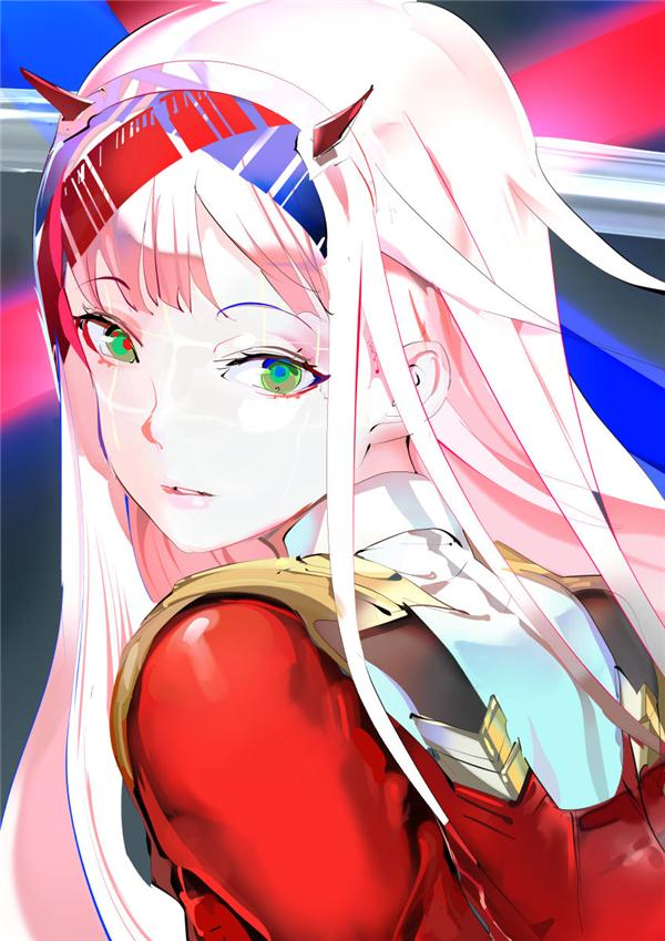 Why 02 Zero Two's color is Red and Pink--DARLING in the FRANXX