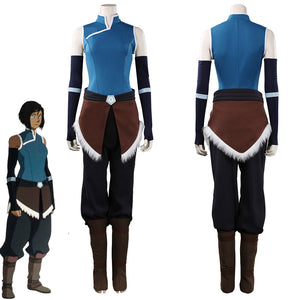 Avatar: The Legend of Korra-Korra Outfits Halloween Carnival Suit Cosplay Costume
