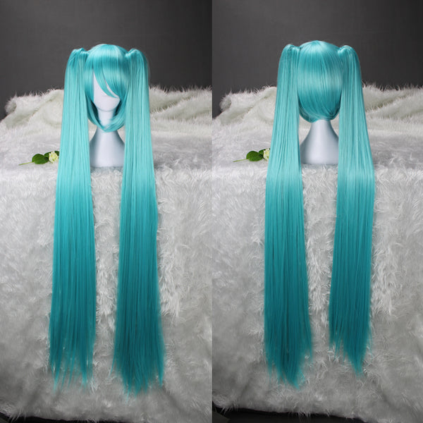 Vocaloid 2 Cosplay Hatsune Miku Green Long Wig
