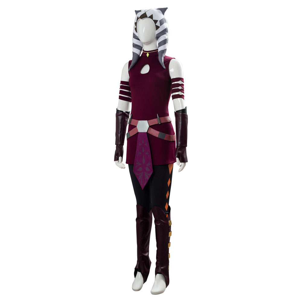 Ahsoka Tano Star Wars: The Clone Wars Suit Cosplay Costume ...