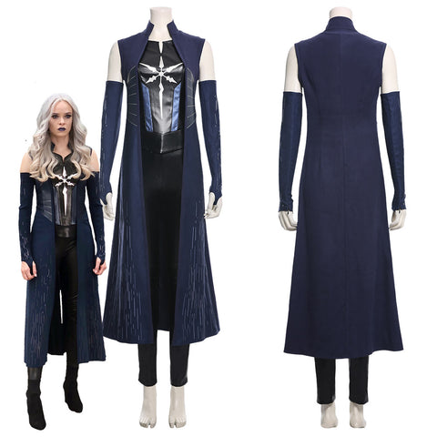 The Flash Season 6 Killer Frost Caitlin Snow Cosplay Costume