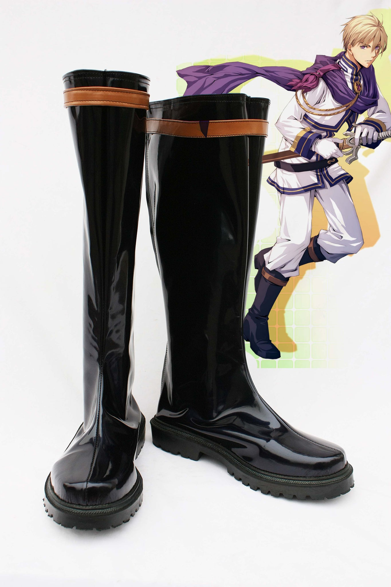 Ys:The Oath in Felghana Chester Stoddart Cosplay Boots Shoes