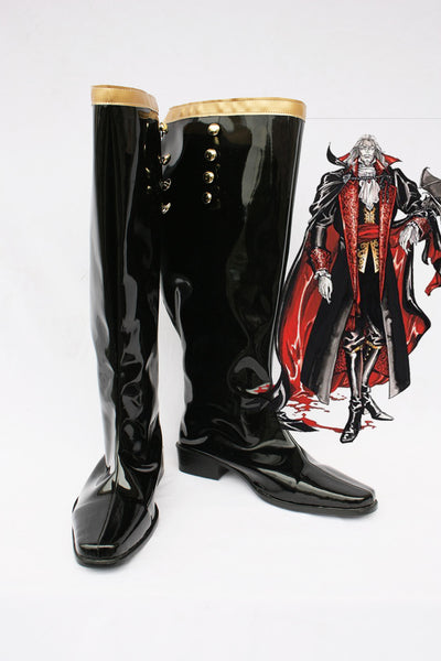 Castlevania Count Cosplay Boots Shoes Custom Made