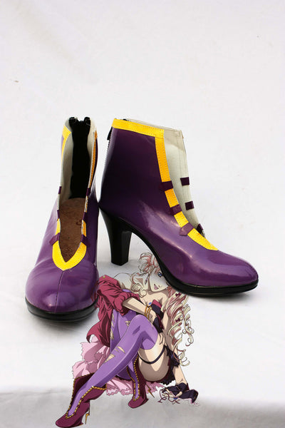 Macross F Shirley Lu Cosplay Boots Shoes