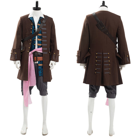 Pirates of the Caribbean 5: Jack Sparrow Costume Set