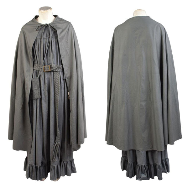 The Lord Of The Rings Grey Cape Cosplay Costume