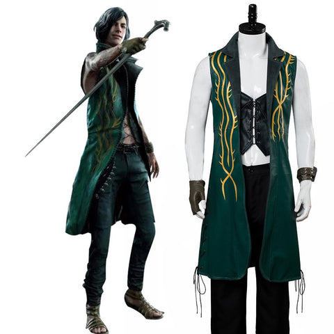Devil May Cry 5 V DLC The Bloody Palace Cosplay Costume