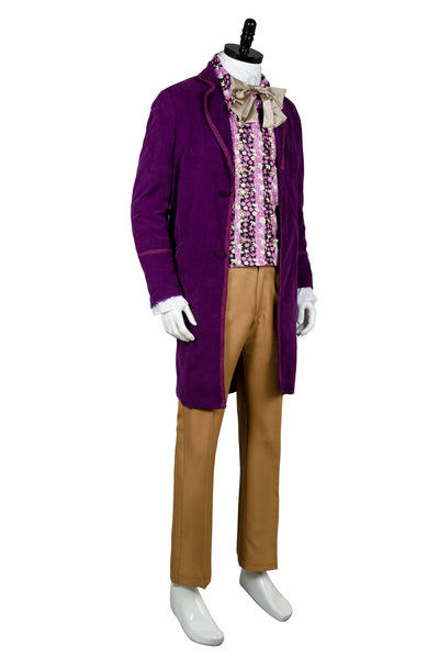 Willy Wonka and the Chocolate Factory 1971 Costume - Coat,Vest,Bow Tie,Pants