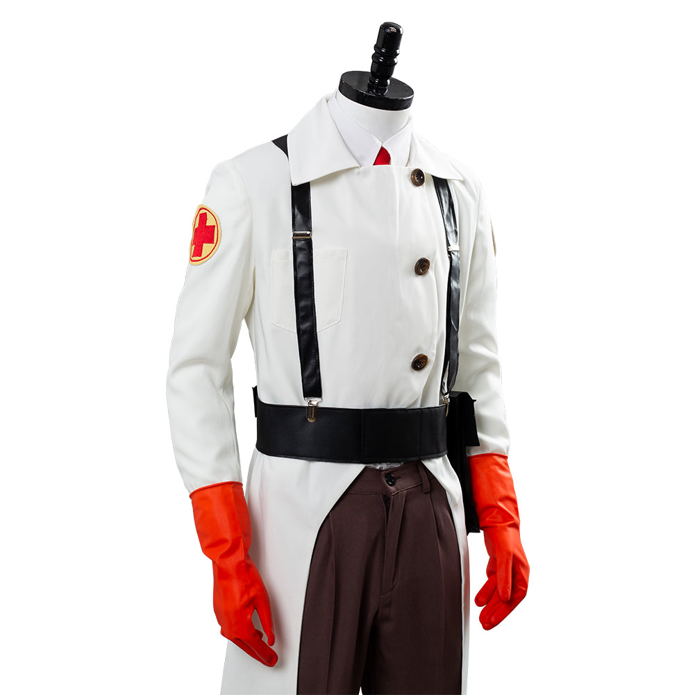 New Team Fortress 2 Medic Cosplay Costume Custom Made HH.046