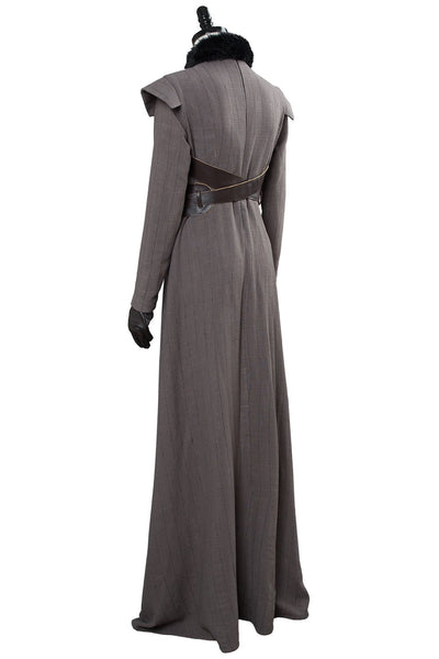 Game of Thrones Sansa Stark Outfit Cosplay Costume GOT Women Halloween Costume