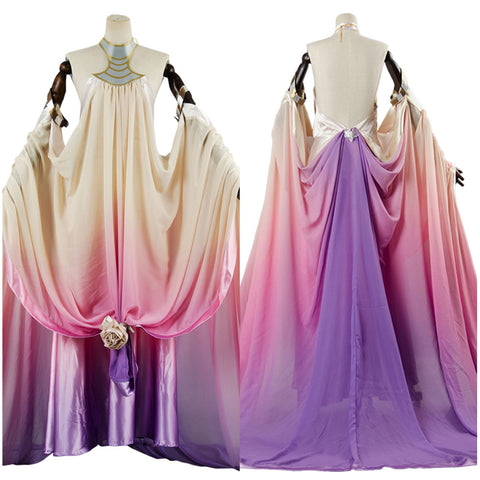 Star Wars 3 Padme Amidala Naberrie Lake Dress Cosplay Costume
