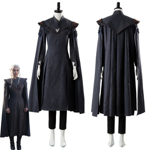 Game of Thrones Season 7 Daenerys Targaryen Dress Ver. 2 Cosplay Costume