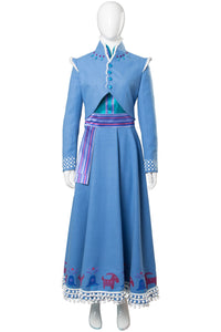 Olaf's Frozen Adventure Anna Dress Outfit Cosplay Costume
