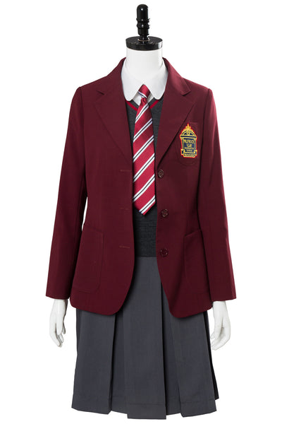 A Series of Unfortunate Events  Violet Baudelaire School Uniform Cosplay Costume