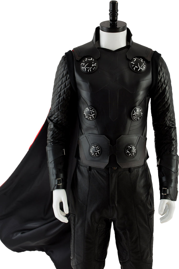 Avengers 3 Infinity War Thor Odinson Halloween Cosplay Costume Cloak Outfit Suit