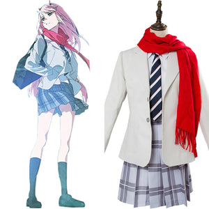 DARLING in the FRANXX Code 002 Zero Two cosplay costume ED Version