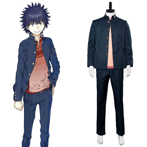 A Certain Magical Index Scientific Railgun Season 3 Toma Kamijo Touma Kamijou Cosplay Costume