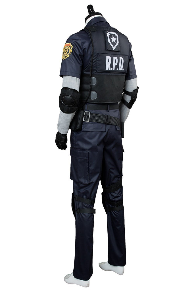 Video Game Resident Evil 2 Remake Re Leon Scott Kennedy Outfit