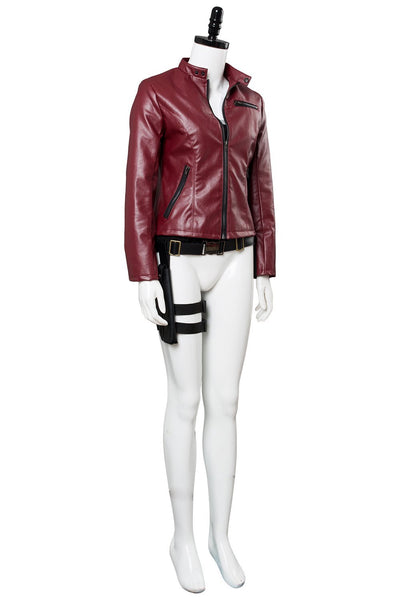 Video Game Resident Evil 2 Remake Claire Redfield Outfit Cosplay Costume