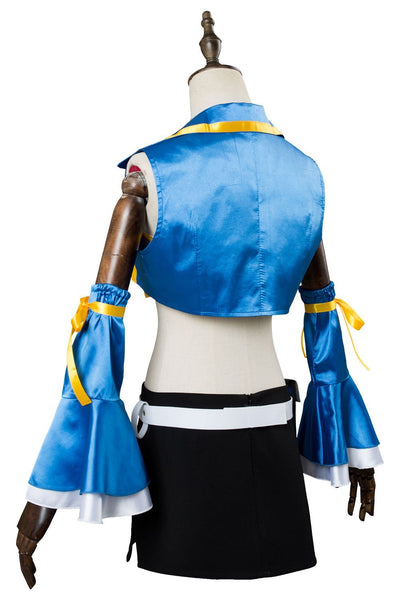 Fairy Tail Season 2 Lucy Heartfilia Outfit Cosplay Costume