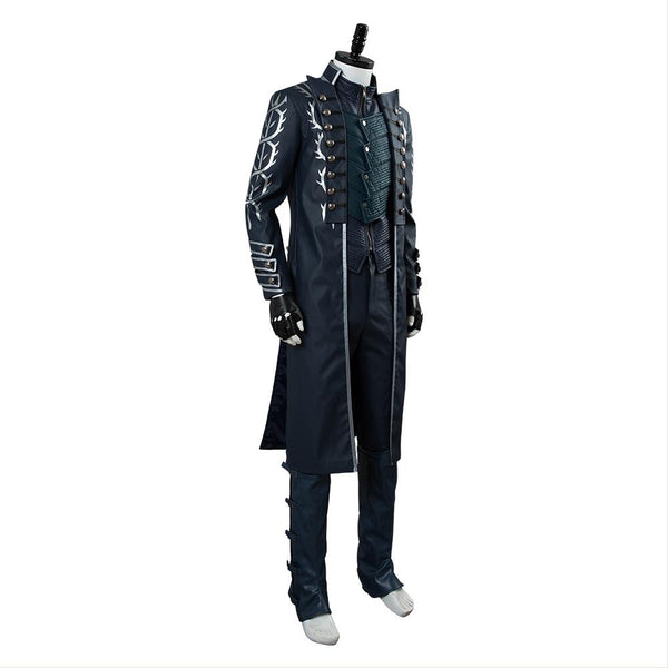 Devil May Cry V Vergil Aged Outfit Cosplay Costume