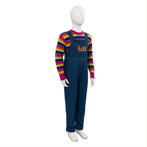Child's Play 2019 Chucky Cosplay Costume For Kid