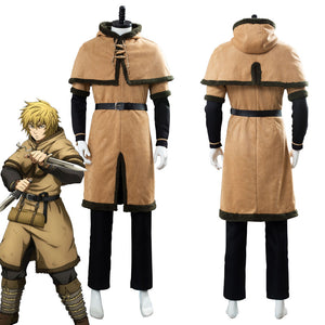Thorfinn Viking Pirate Vinland Saga Outfit Cosplay Costume