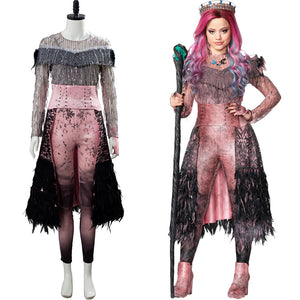 Descendants 3 Evil Audrey Uniform Cosplay Costume