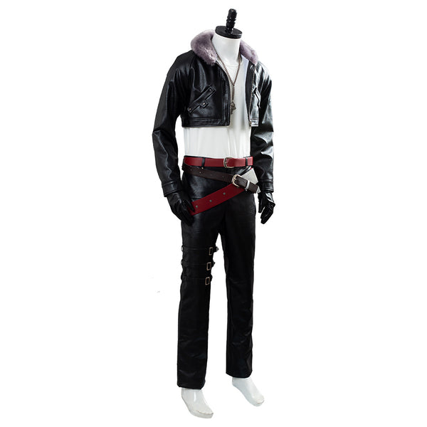 Final Fantasy 8 Remastered Squall Leonhart Suit Cosplay Costume