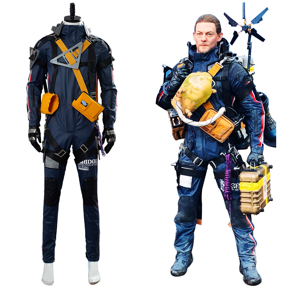Details about  /Death Stranding Cosplay  Sam Norman Reedus Costume Outfit Male Full Set