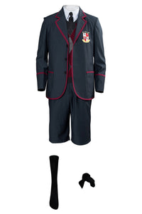 The Umbrella Academy Boys School Uniform Cosplay Costume For Kids