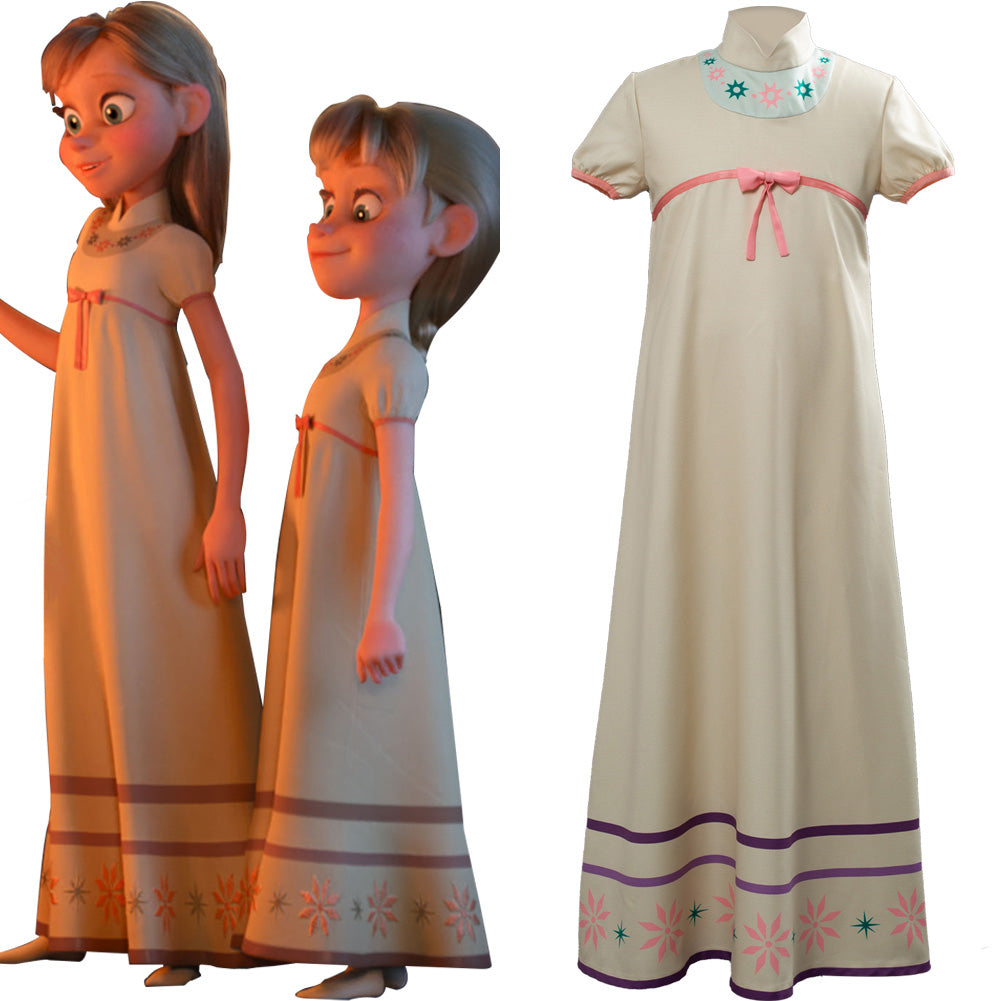 Frozen 2 Pajamas Cosplay Costume For Child Kids