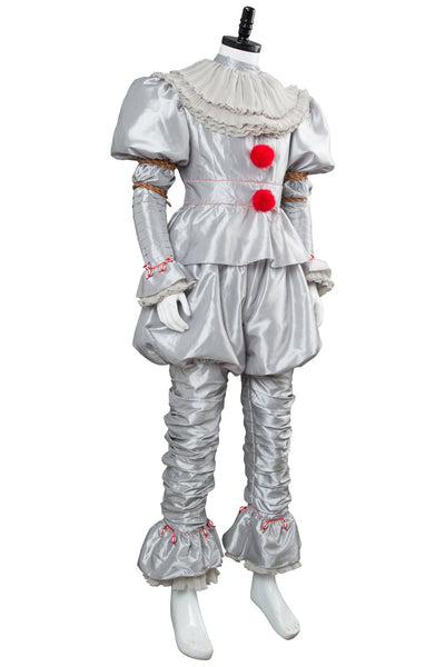 IT 2 Pennywise Clown Outfit Cosplay Costume Stephen King Adult Men Women