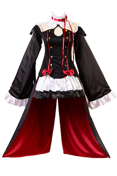 Seraph of the End Vampires Krul Tepes Uniform Cosplay Costume