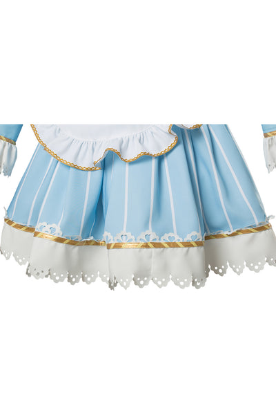 Love Live ! Ruby Kurosawa Aqours Wonderland Ver Maid Dress Cosplay Costume