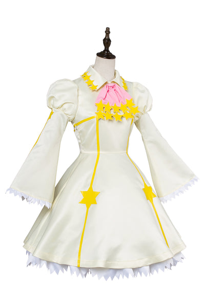 Cardcaptor Sakura :Clear Card Kinomoto Sakura Star Battle Dress Cosplay Costume