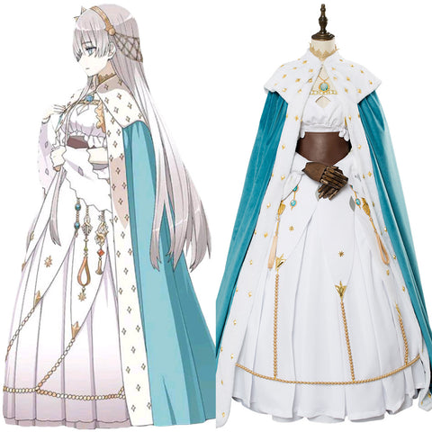 Fate Grand Order Cosmos in the lostbelt Anastasia Dress Outfit Cosplay Costume