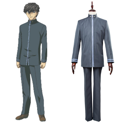 Full Metal Panic! Invisible Victory Sousuke Sagara School Uniform Cosplay Costume