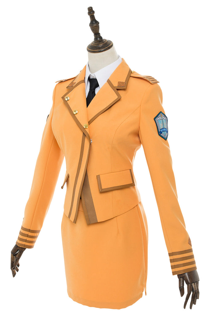 Full Metal Panic Invisible Victory Teletha Cosplay Costume Uniform Dress Women's Costumes