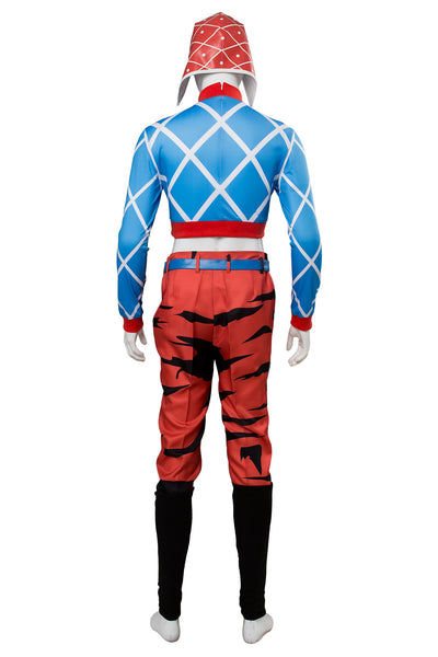 JoJo's Bizarre Adventure: Golden Wind Guido Mista Cosplay Costume