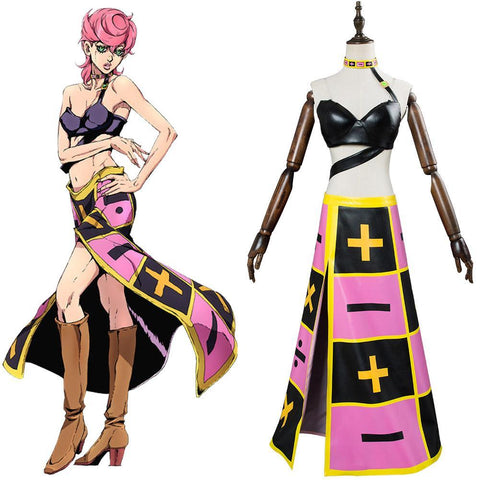 JoJo's Bizarre Adventure: Golden Wind Trish Una Cosplay Costume