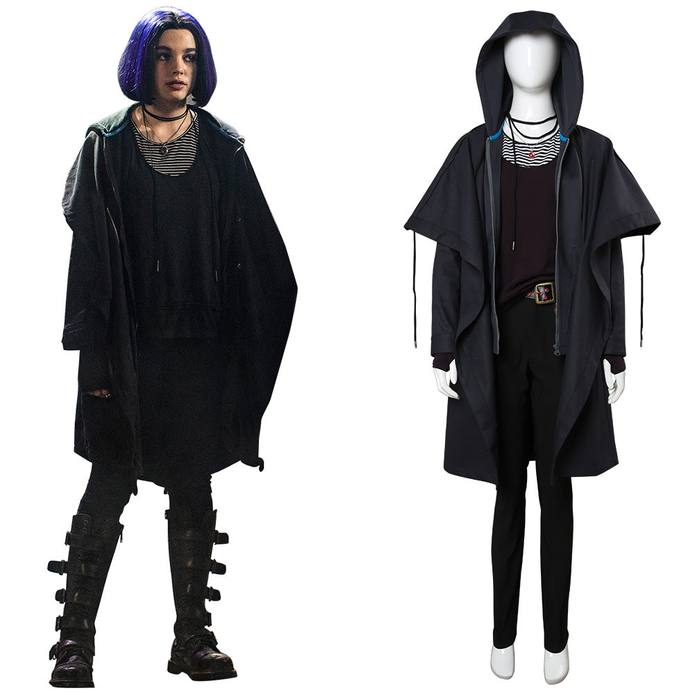 2018 Titans Raven Rachel Roth Outfit Cosplay Costume